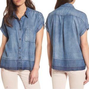 RAILS Denim Shirt Size S